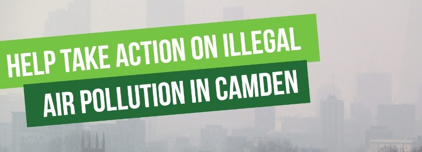 Take action on air pollution in Camden