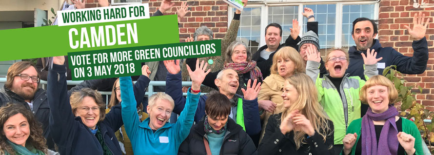 Vote for more Green councillors on 3 May