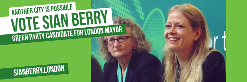 Sian Berry for London Mayor