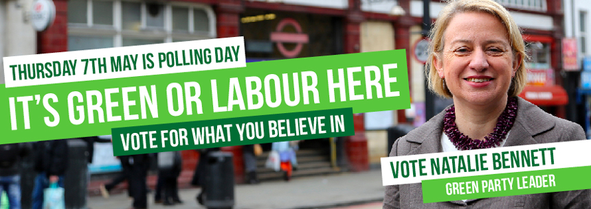 Vote Green on 7 May