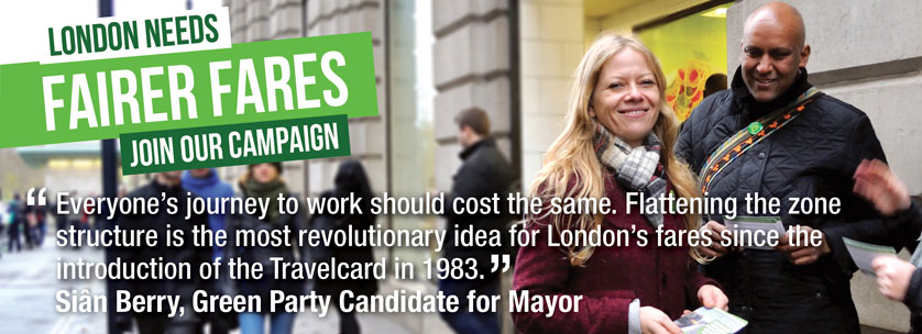 Fair fares for London - join our campaign